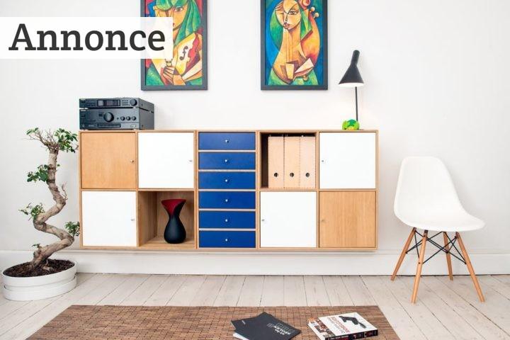 Brug antik møbler i indretningen