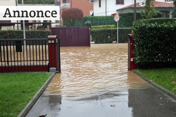 Spar på vandet med et regnvandsanlæg