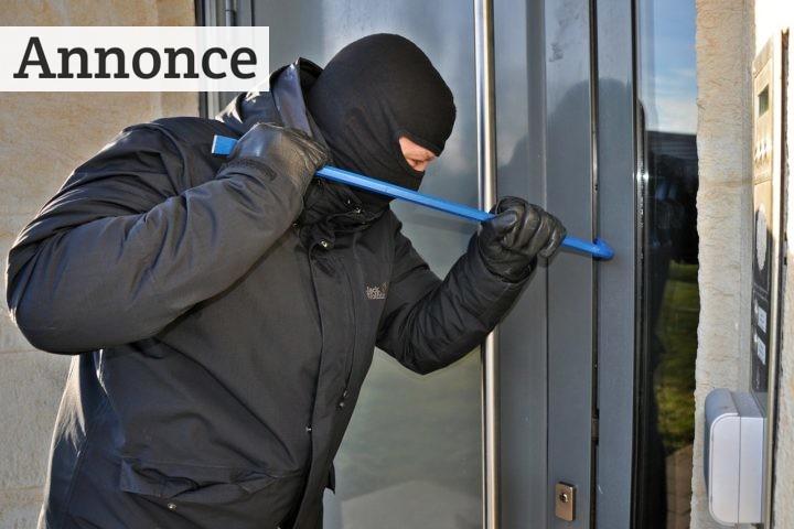 Sådan forebygger du indbrud i hjemmet