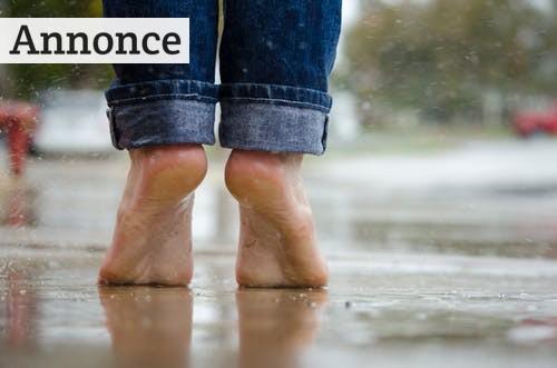 Sådan afhjælper du dine smerter i fødderne