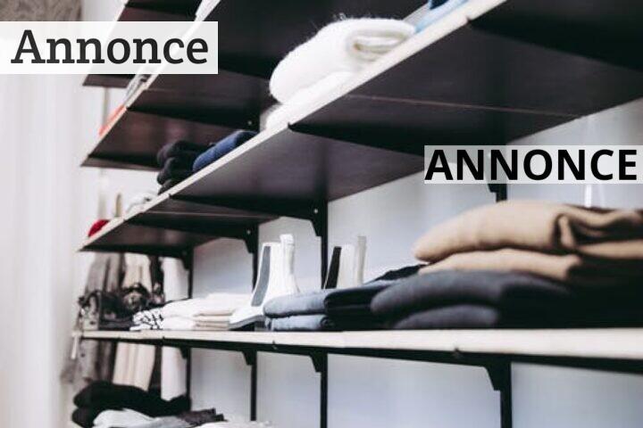 Sådan får du en stilet garderobe på budget