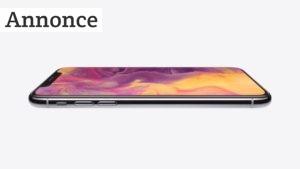 Dyr produktion af iPhone X